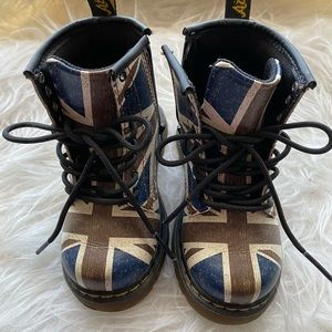 Dr. Martens Kids Boots England Special Edition